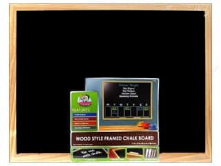 Back To School Framing: The Board Dudes Chalk Boards Wood Frame 17 x 23 in.