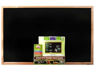 Board Dudes, The Cork: The Board Dudes Chalk Boards Wood Frame 23 x 35 in.