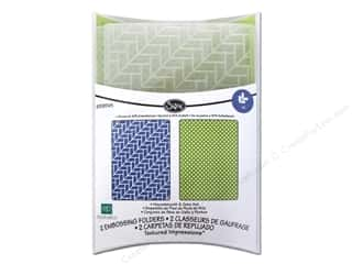 Papers Textured Papers: Sizzix Embossing Folders Echo Park Paper Textured Impressions Houndstooth & Dots