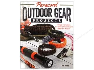 Books & Patterns All-American Crafts: Fox Chapel Publishing Paracord Outdoor Gear Projects Book