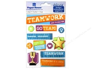 Paper House Sticker 3D Chipoxy Teamwork