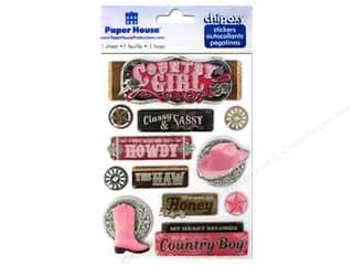 Paper House Sticker 3D Chipoxy Country Girl