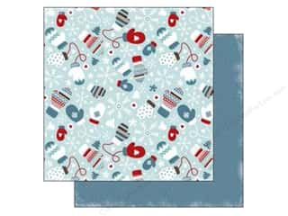 Carta Bella 12 x 12 in. Paper All Bundled Mittens (25 piece)