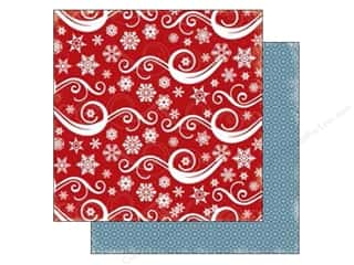 Carta Bella Winter: Carta Bella 12 x 12 in. Paper All Bundled Snowflake Swirl (25 pieces)