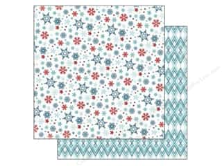 Carta Bella 12 x 12 in. Paper All Bundled Small Snowflakes (25 piece)