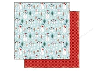 Carta Bella Winter: Carta Bella 12 x 12 in. Paper All Bundled Up Snowmen (25 pieces)