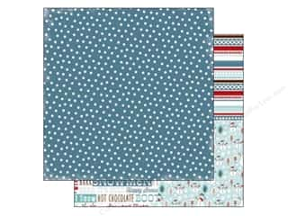 Carta Bella 12 x 12 in. Paper All Bundled Navy Polka Dots (25 piece)