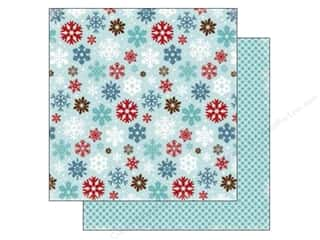 Carta Bella 12 x 12 in. Paper All Bundled Large Snowflakes (25 piece)