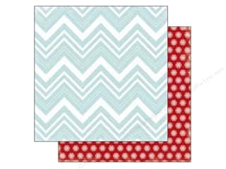 Carta Bella 12 x 12 in. Paper All Bundled Large Chevron (25 piece)
