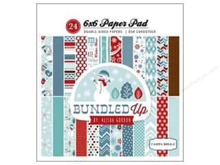 Carta Bella 6 x 6 in. Paper Pad All Bundled Up