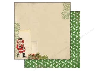 Carta Bella 12 x 12 in. Paper Santa Claus (25 piece)