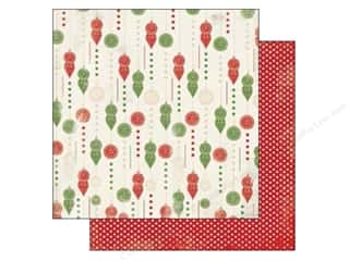 Carta Bella Christmas: Carta Bella 12 x 12 in. Paper Christmas Time Trim The Tree (25 pieces)