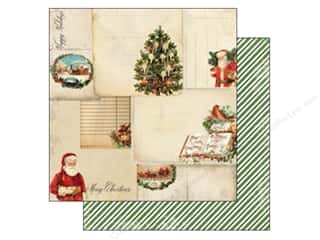 Carta Bella Christmas: Carta Bella 12 x 12 in. Paper Christmas Time Christmas Cards (25 pieces)