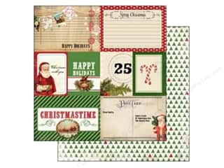 Carta Bella 12 x 12 in. Paper Christmas Journaling Card (25 piece)