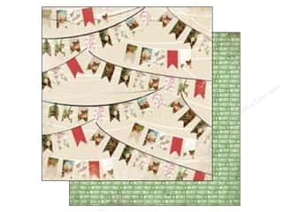 Carta Bella Christmas: Carta Bella 12 x 12 in. Paper Christmas Time Holiday Banners (25 pieces)