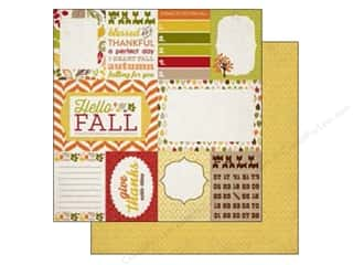 Carta Bella 12 x 12 in. Paper Autumn Journaling Cards (25 piece)