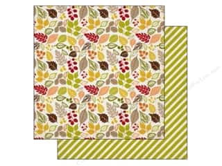 Autumn Leaves Scrapbooking & Paper Crafts: Carta Bella 12 x 12 in. Paper Perfect Autumn Falling Leaves (25 pieces)
