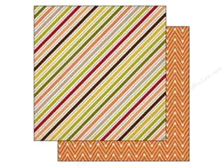 Carta Bella 12 x 12 in. Paper Perfect Autumn Fall Stripe (25 piece)