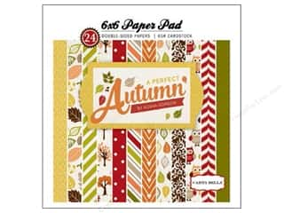 Autumn Leaves paper dimensions: Carta Bella 6 x 6 in. Paper Pad Perfect Autumn