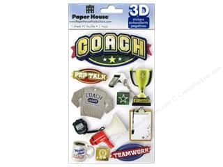 Chains Framing: Paper House Sticker 3D Coach