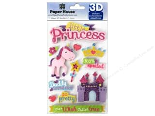 Foam Children: Paper House Sticker 3D Little Princess