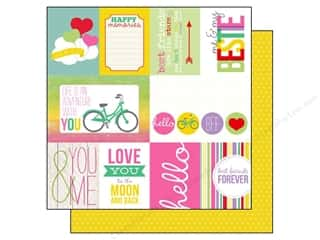 Echo Park 12 x 12 in. Paper Best Friends Journaling (15 piece)