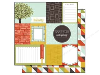 Echo Park 12 x 12 in. Paper Family Reunion Journaling (15 piece)