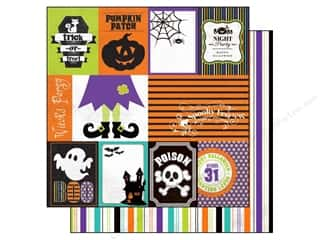 Patches Clearance Crafts: Echo Park 12 x 12 in. Paper Ghost Town Collection Journaling (15 pieces)