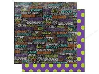 Echo Park 12 x 12 in. Paper Ghost Town Words (15 piece)