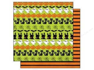 Echo Park 12 x 12 in. Paper Ghost Town Ghosts Pumpkins (15 piece)