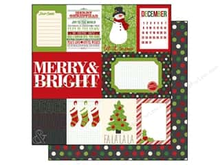 Echo Park 12 x 12 in. Paper Jingle All The Way Journal (15 piece)