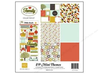 Clearance Echo Park Collection Kit: Echo Park 12 x 12 in. Family Reunion Collection Kit