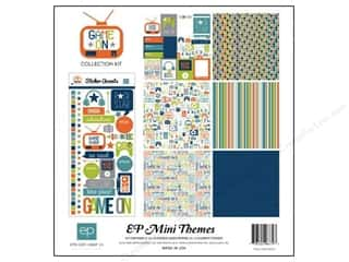Echo Park 12 x 12 in. Game On Collection Kit