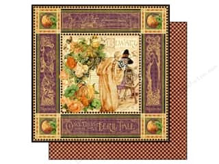 Graphic 45 Halloween: Graphic 45 Paper 12x12 An Eerie Tale (25 pieces)