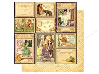 Graphic 45 Halloween: Graphic 45 Paper 12x12 An Eerie Tale You Bewitch Me (25 pieces)