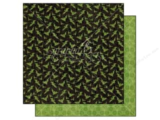 Graphic 45 Halloween Spook-tacular: Graphic 45 Paper 12x12 An Eerie Tale Gone Batty (25 pieces)