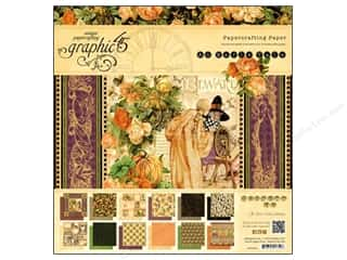 "Borders Weekly Specials: Graphic 45 Paper Pad An Eerie Tale 12""x 12"""
