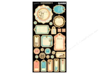 Graphic 45 Die Cut Come Away Chipboard Journaling