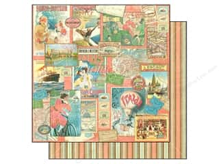 Graphic 45 Paper 12x12 Come Away Pleasure Trip (25 piece)