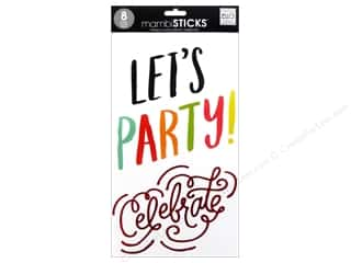 MAMBI Sticker Big Words Let's Party