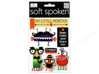 Foam Children: Me&My Big Ideas Sticker Soft Spoken Ellen Krans My Little Monster