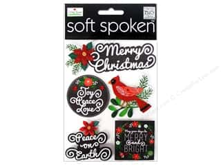 MAMBI Sticker Soft Spoken Ellen Merry Christmas