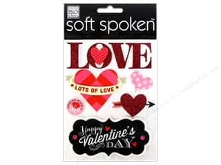 Love & Romance $3 - $6: Me&My Big Ideas Sticker Soft Spoken Love Lots of Love
