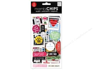Love & Romance Chipboard: Me&My Big Ideas Sticker Designer Chipboard Insta Love