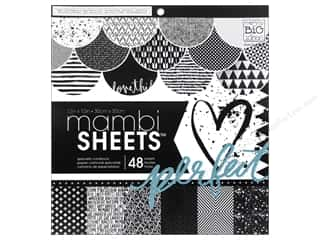 MAMBI Sheets Cardstock Pad 12 x 12 in. Graphic
