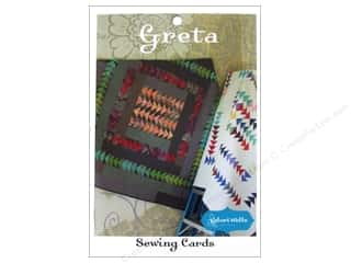Stitchin' Post Quilt Patterns: Stitchin' Post Greta Sewing Card Pattern