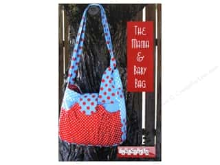Lila Tueller Designs Tote Bags / Purses Patterns: Fishsticks Designs The Mama & Baby Bag Pattern
