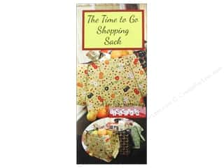 The Time To Go Shop Sack Pattern