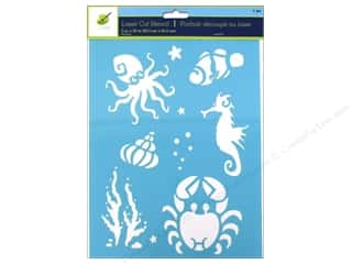 Multicraft Stencil Laser 8x10 Sea Life