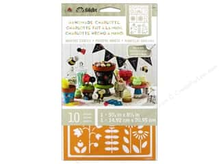 Gardening & Patio Craft & Hobbies: Plaid Stencil FolkArt Charlotte Adhesive Garden